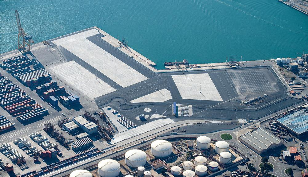 Terminal Contenedores de TCB Muelle Sur del Puerto de Barcelona - Copisa