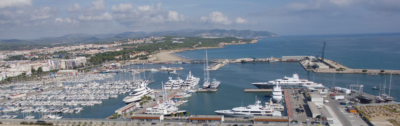 Copisa construcción puerto Vilanova i la Geltrú