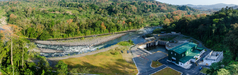 Copisa construcción proyecto hidroeléctrico Costa Rica