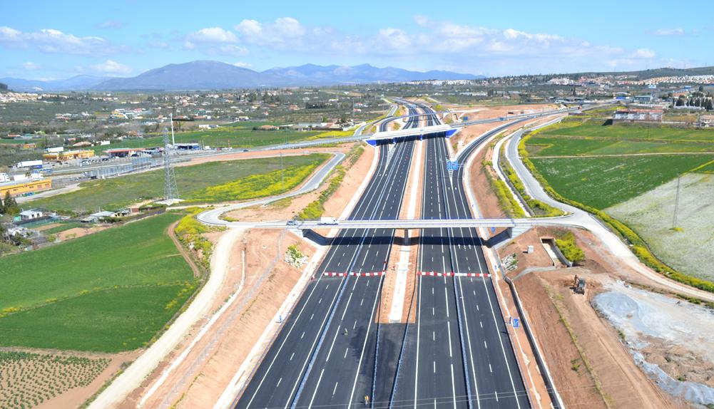 Copisa construcción autovía Sierra Nevada