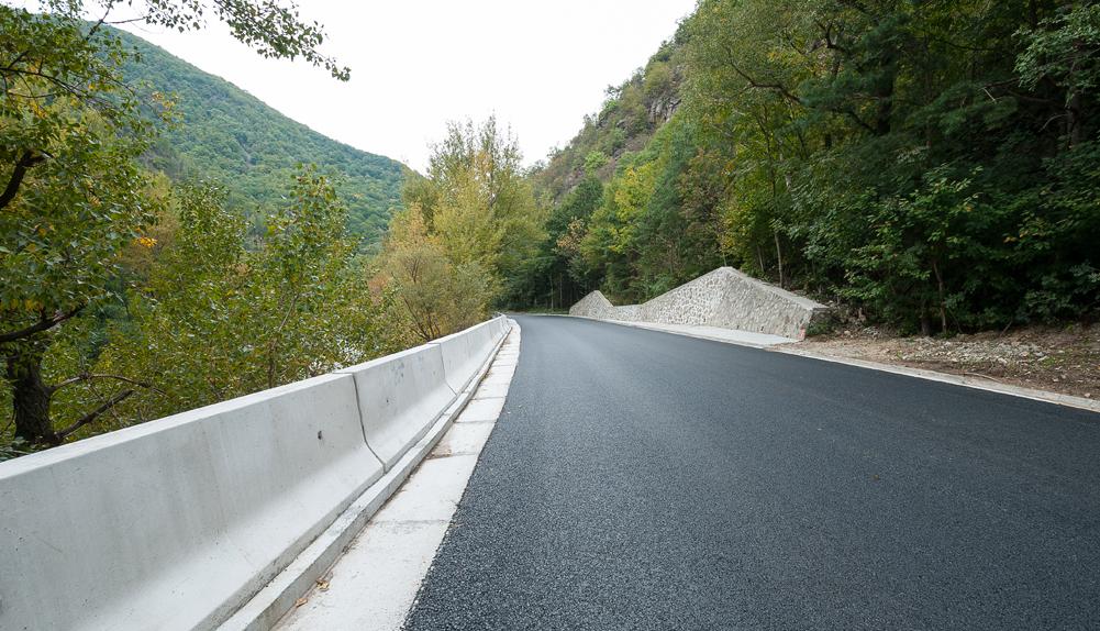 Copisa construcción carretera Runaanía