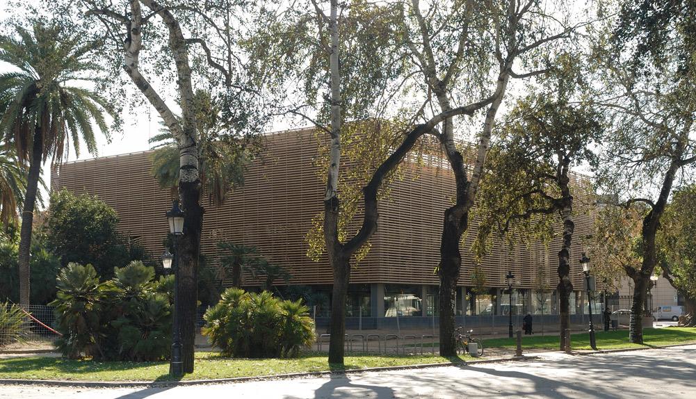 Complejo deportivo, Parque de la Ciudadela - Copisa