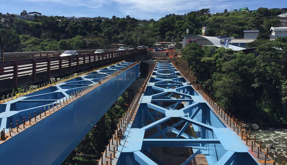 Ruta Nacional Nº3, puente sobre río Virilla. Costa Rica. - Copisa
