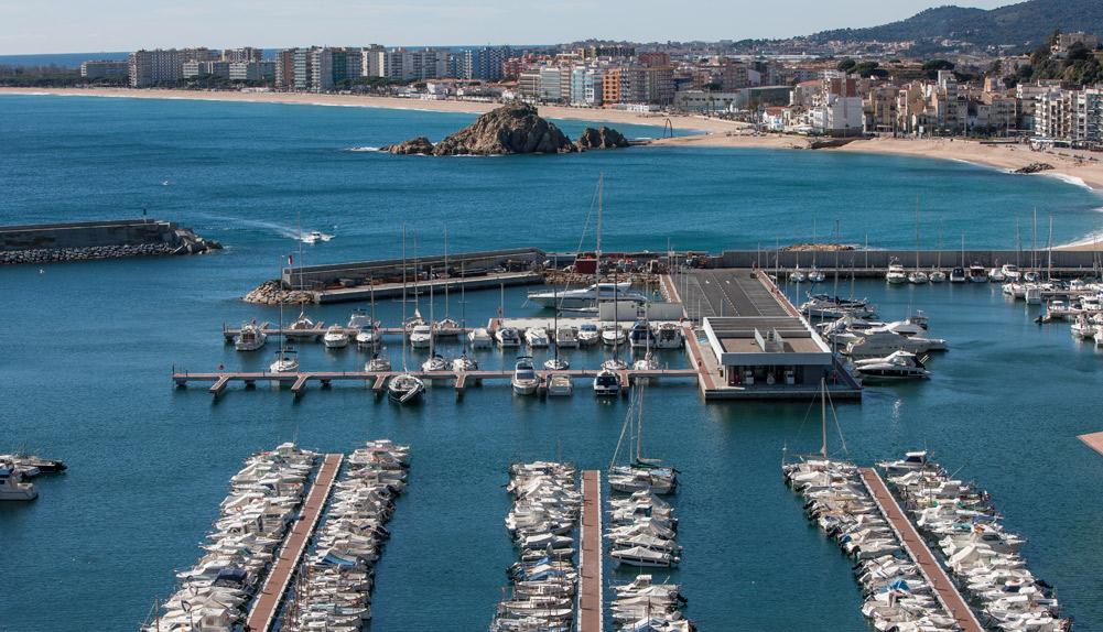 Copisa construcción puerto de Blanes