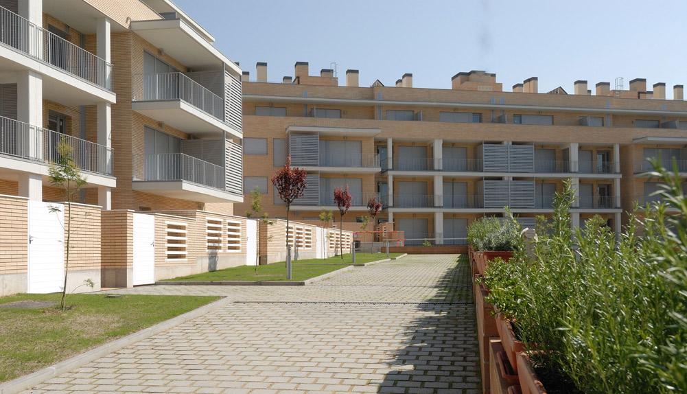 Copisa construcción viviendas en Sant Cugat