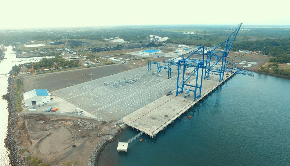 Copisa construcción terminal de contenedores en Guatemala