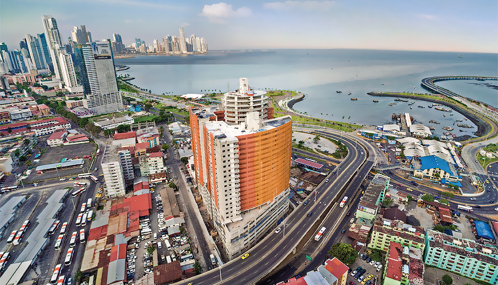 Copisa construcción edificio en Panamá