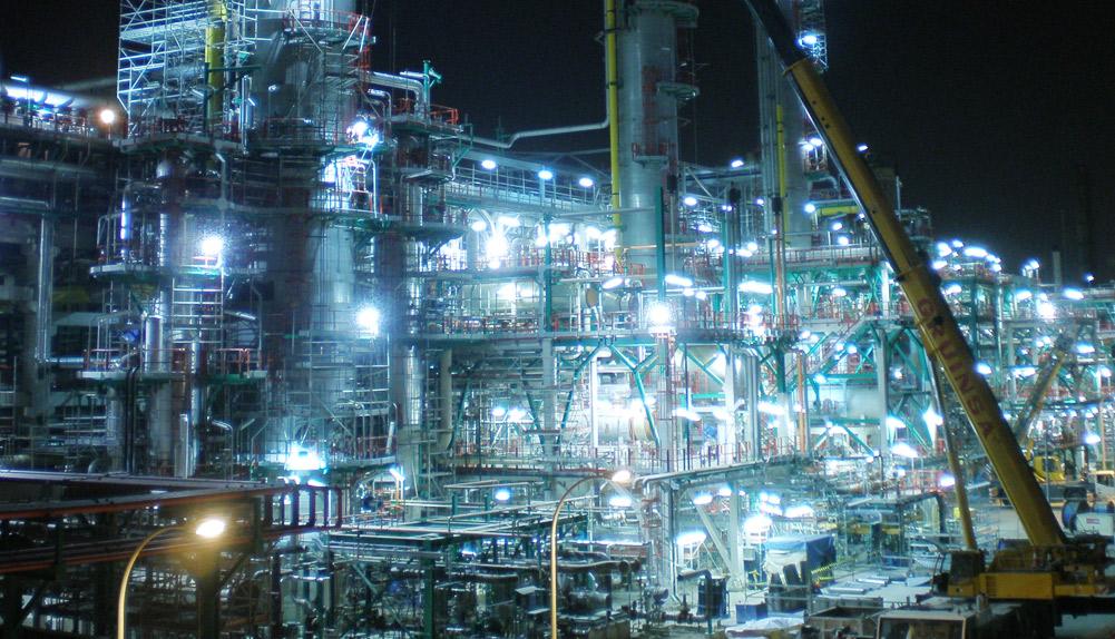 Montaje mecánico hydrocracker de la refinería Repsol, Cartagena - Copisa