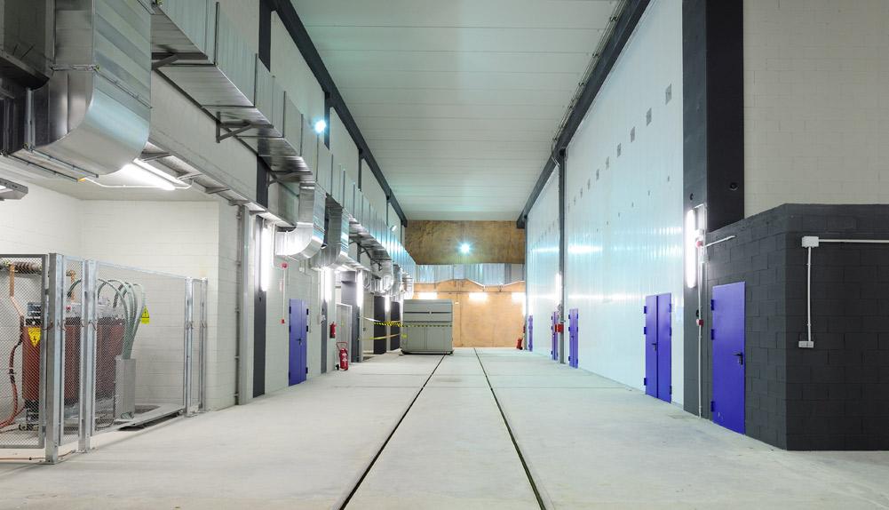 Subestación eléctrica Facultats, Barcelona - Copisa
