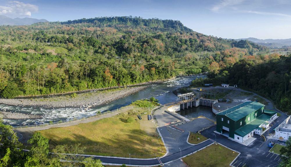 Proyecto hidroeléctrico Torito Costa Rica - Copisa
